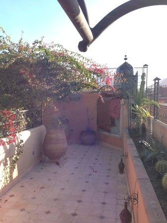 Riad Anabel: The rooftop terrace