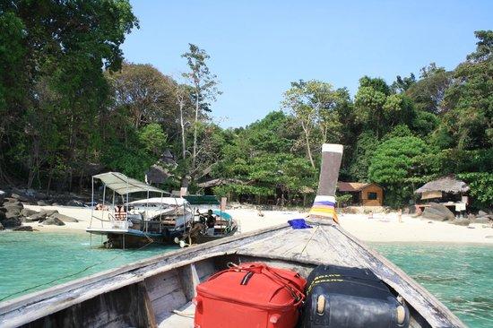 Viking Natures Resort : arrivée en bateau