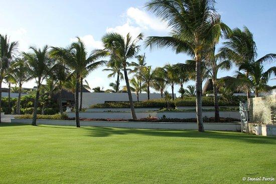 Long Beach Mauritius: Le parc