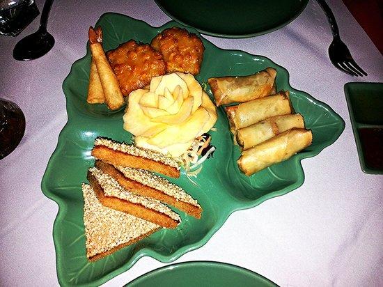 Jintana Thai Restaurant: starters