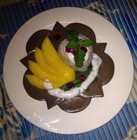 AnnAdyA Restaurant & Bar: Mango sticky rice