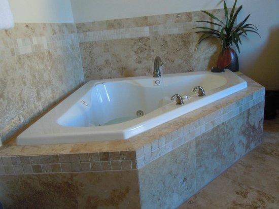 The Trinity Hotel : The Jacuzzi in the corner of the room