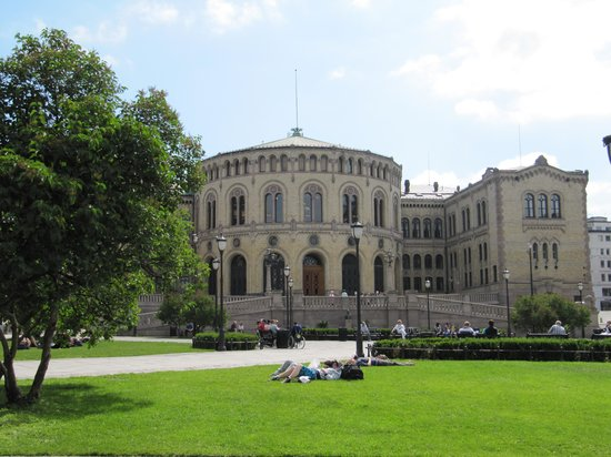 The Norwegian Parliament: праламент
