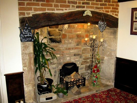 The Old Tea House, Dorchester, Fireplace