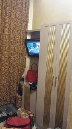 Hotel Fellini: Angolo tv