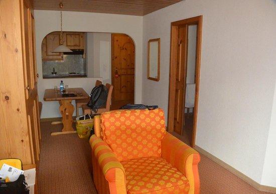 Hostellerie am Schwarzsee: unsere Suite
