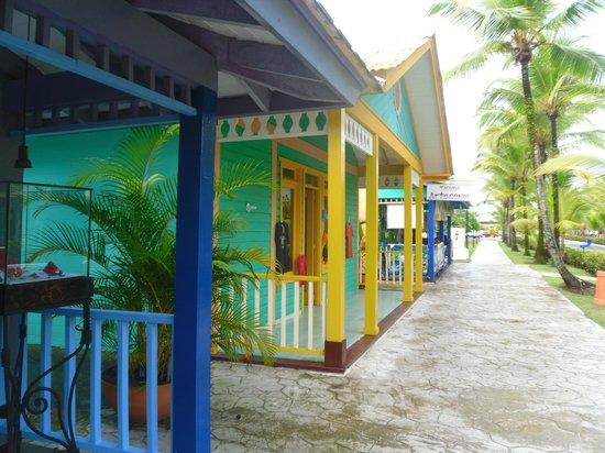 Grand Bahia Principe San Juan : le pueblo
