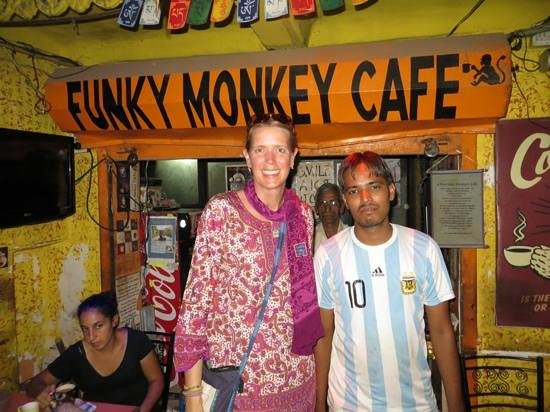 Funky Monkey Cafe : Delicious coffee & great staff