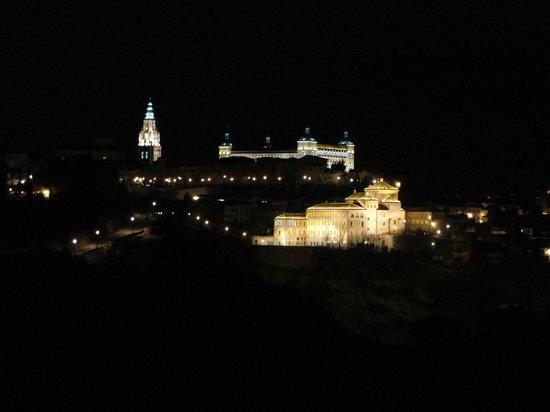 AC Hotel Ciudad de Toledo: Vista do quarto
