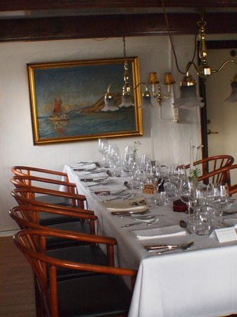 Strandgaarden Badehotel : Long table