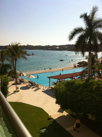 Dreams Huatulco Resort & Spa: View from our room (# 3208)