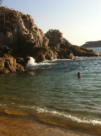Dreams Huatulco Resort & Spa: Great snorkelling spot!