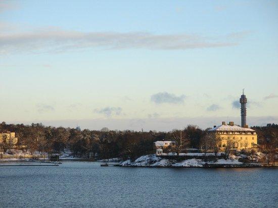 Elite Hotel Marina Tower : Utsikt
