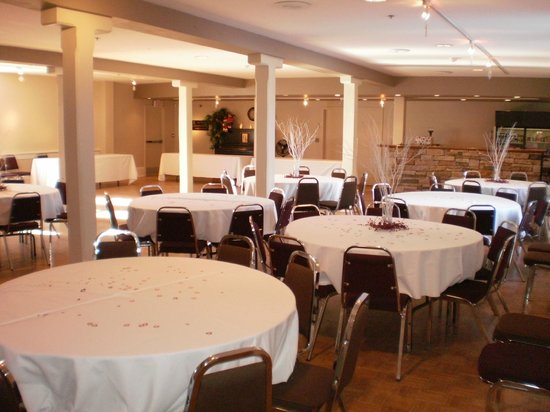 The Gravenhurst Opera House: View of the Trillium Court (used for banquets, seminars, receptions)