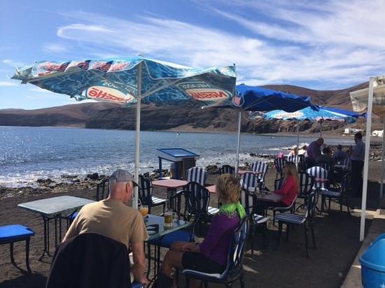 Restaurante Playa Quemada: stunning location