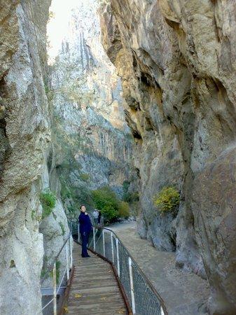 Saklikent Milli Parki : Saklıkent Kanyonu