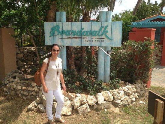 Boardwalk Hotel Aruba: Entrance