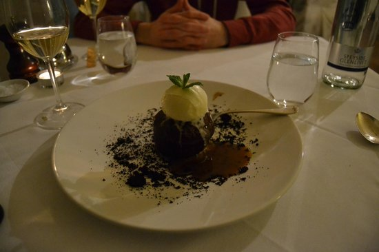Dalmunzie Castle: all food was excellent