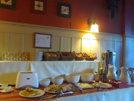 Hosteria La Casita : Desayuno buffet