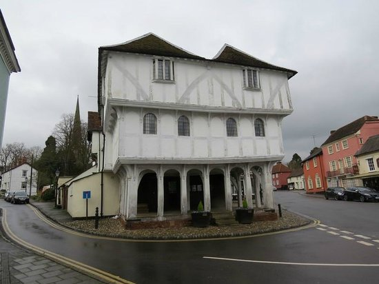Great Dunmow, UK: Half-timbered structure