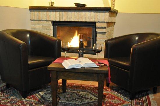 Agriturismo Il Cavaliere: sala lettura