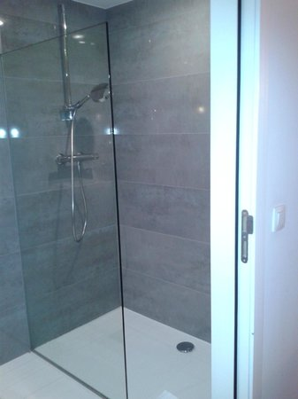 Sandton Hotel Brussels Centre: the shower