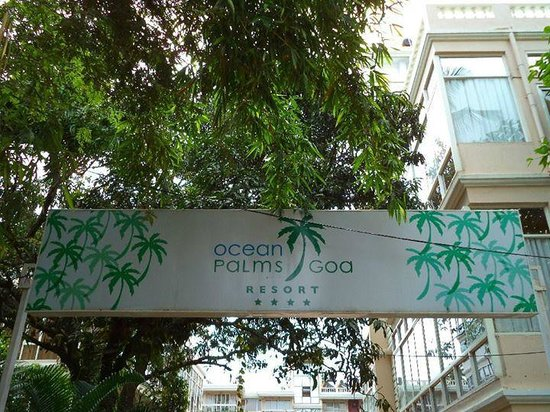 Ocean Palms Goa: Entrance