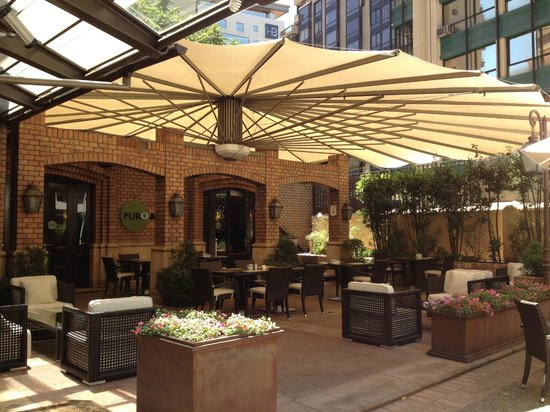 Plaza El Bosque San Sebastian: Restaurante do hotel