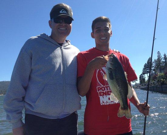 Big Bear Charter Fishing: Largemouth Bass