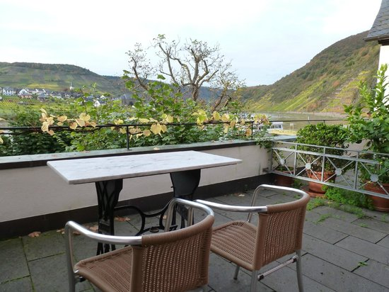 Hotel Haus Lipmann: View from the balcony in room #4