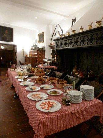 Hotel Haus Lipmann: Breakfast spread