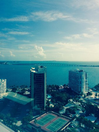 Four Seasons Hotel Miami: View from the room