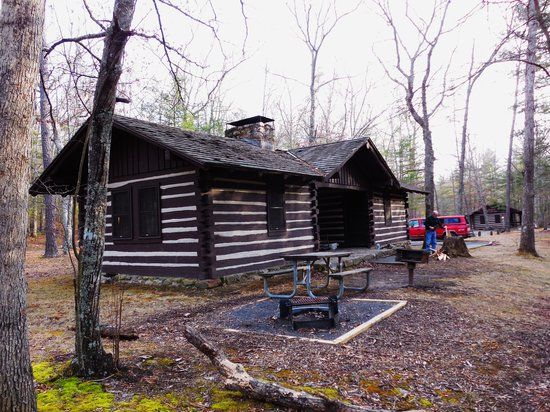 Douthat State Park: Cabin 23