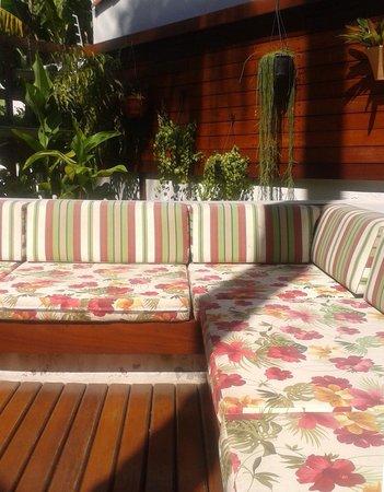 Flamingo Beach Hotel : Zona de descanso