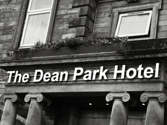 The Dean Park Hotel: front of the building