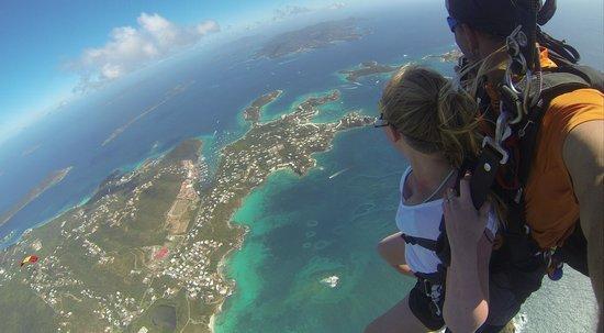 Skydive Virgin Islands