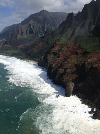 Mauna Loa Helicopters Tours: Napali coast
