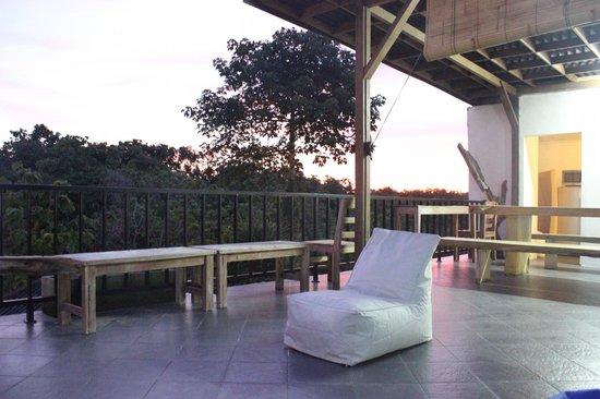 Bombora Surf Camp: Rooftop.