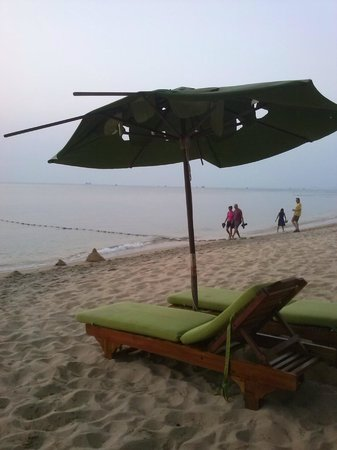 Cassia Cottage: SOMBRILLAS PLAYA