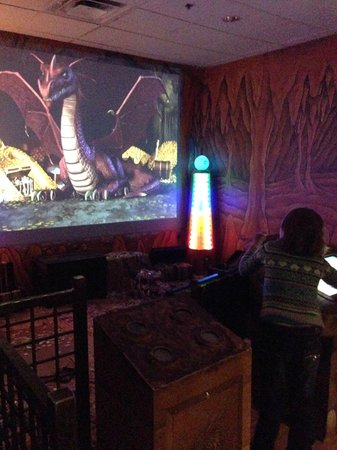 Great Wolf Lodge Grapevine : Fighting the Dragon at MagiQuest