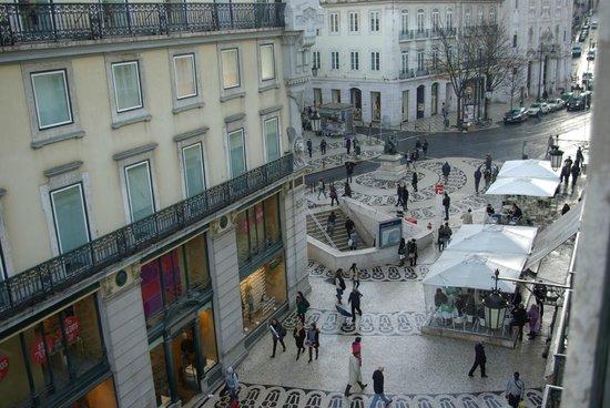 Hotel Borges Chiado: Vistas desde la habitación