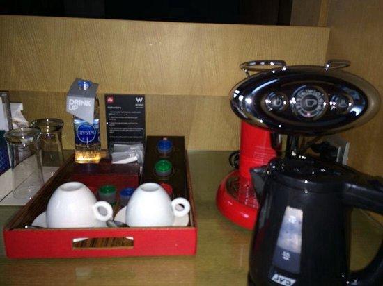 W Koh Samui: room illy coffee