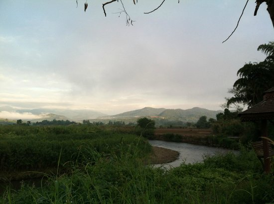Pura Vida Resort: on a way from Pai to hotel