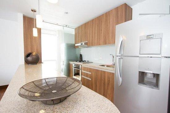 Chico 100 Apartamentos: Cocina