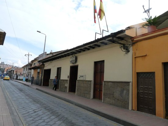Hostal Calle Angosta, a view from Tarqui Street