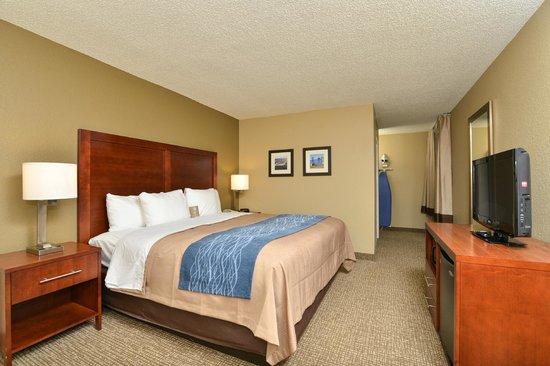 Comfort Inn Elizabeth City: King Room