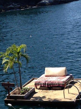 Ocean Grill Vallarta: Wilson's Island retreat...