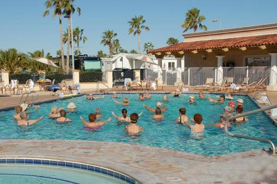 Roadhaven Resort : Great Swimming and Exercise
