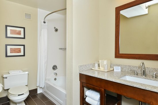 Comfort Inn Elizabeth City : Guest Bathroom