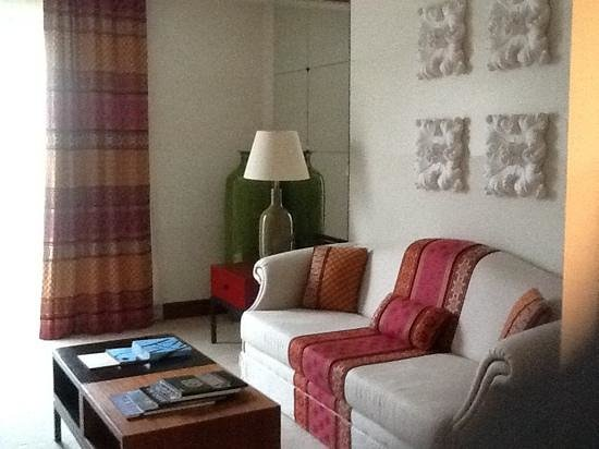 Grande Real Villa Italia Hotel & Spa: living room area